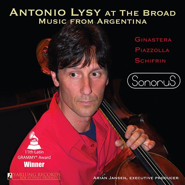 Antonio Lysy | At the Broad | Latin Grammy