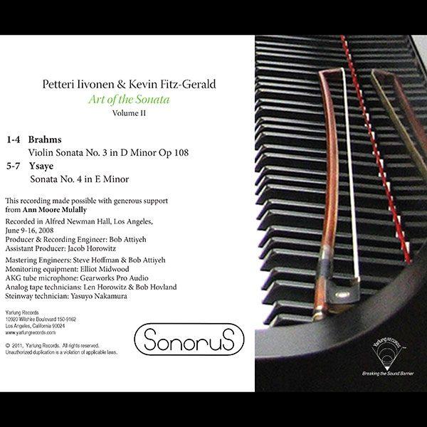 Petteri Iivonen Art of the Sonata – Volume 2