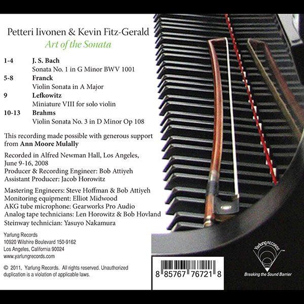Peter Iivonen   Art of the Sonata