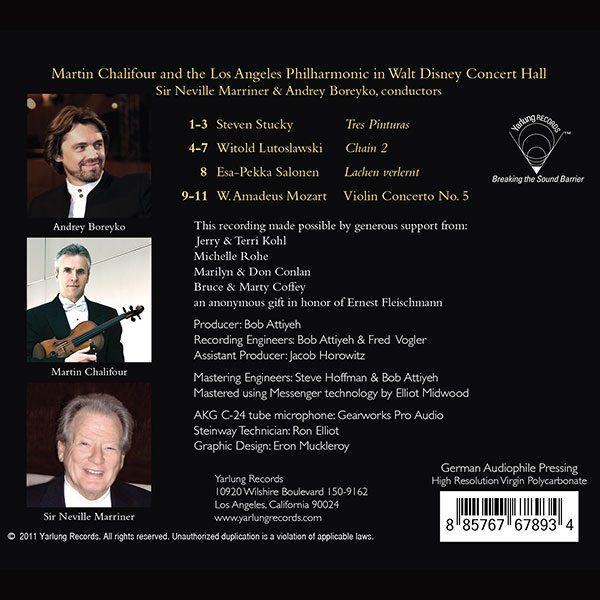 Martin Chalifour | Los Angeles Philharmonic