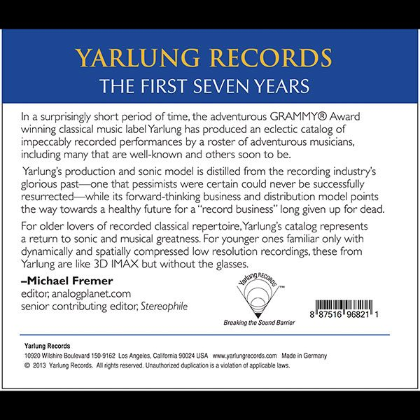 Yarlung Records First Seven Years